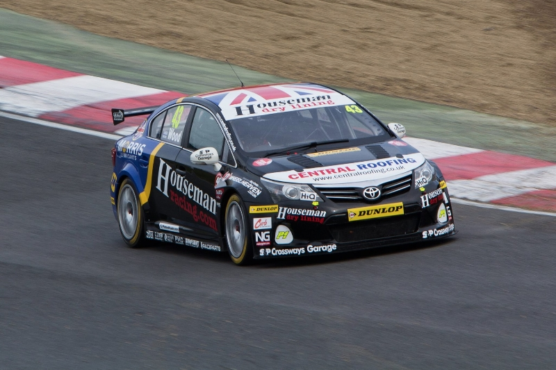Wood concludes 2014 BTCC campaign with excellent showing at Brands
